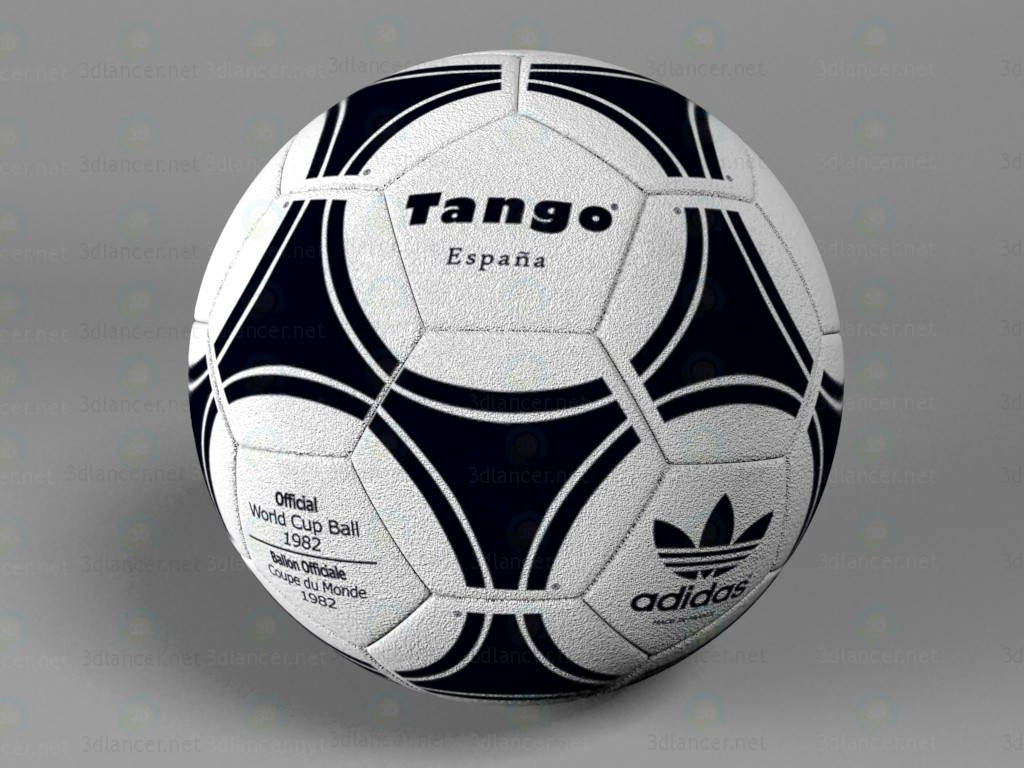 Adidas soccer ball paid 3d model by Oleksii84 preview