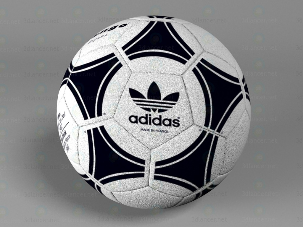 3d Adidas soccer ball model buy - render