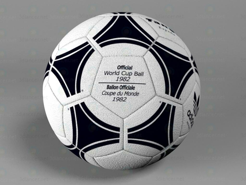 3d М'яч футбольний Adidas модель купити - зображення