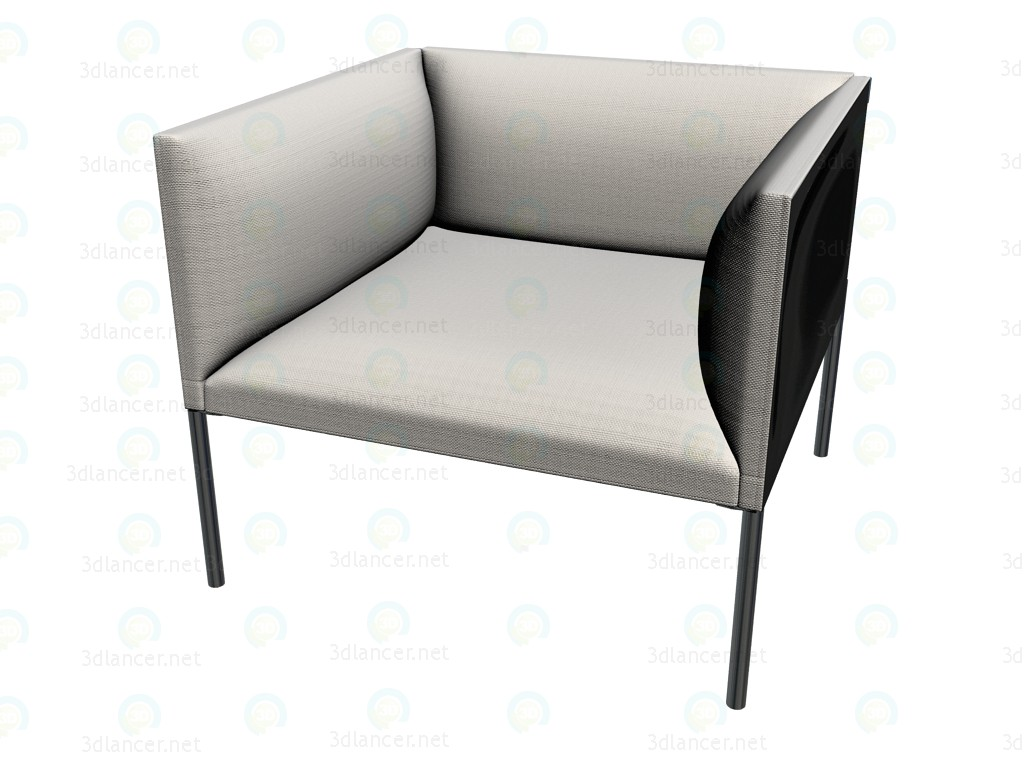 3d model Chair HO80 - preview
