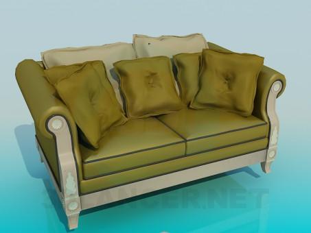 modèle 3D Canapé - preview