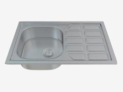 Fregadero de la cocina del alma de acero (ZEO-0113 23935)