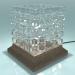 3d Lamp table model buy - render