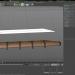 3d Scramasax knife model buy - render