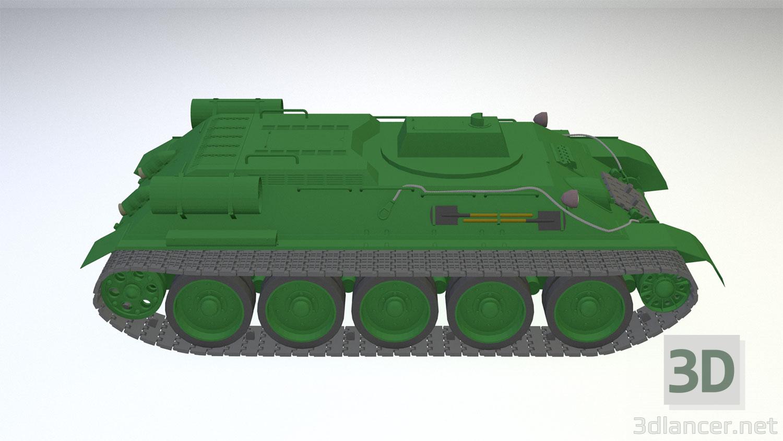 3d BREM T-34T (Option 2) model buy - render