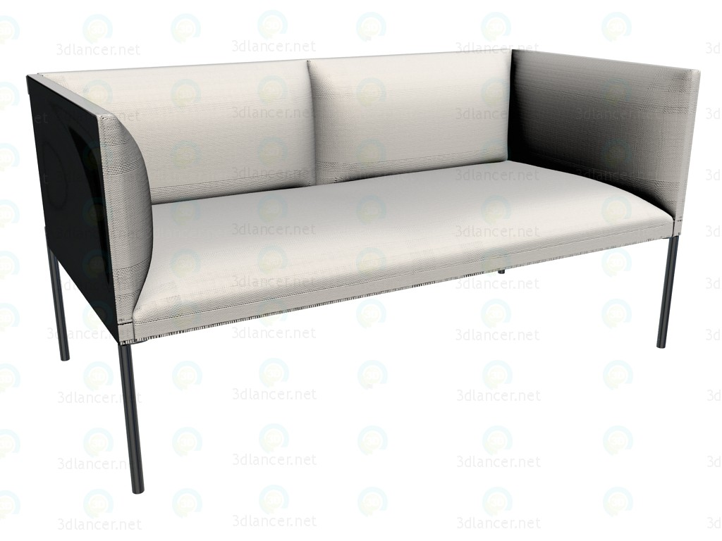 3d model Sofa HO136 - preview