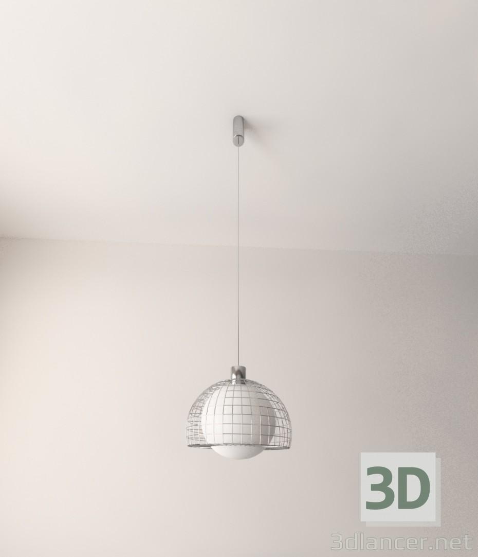 3d model Mesh pendant light - preview