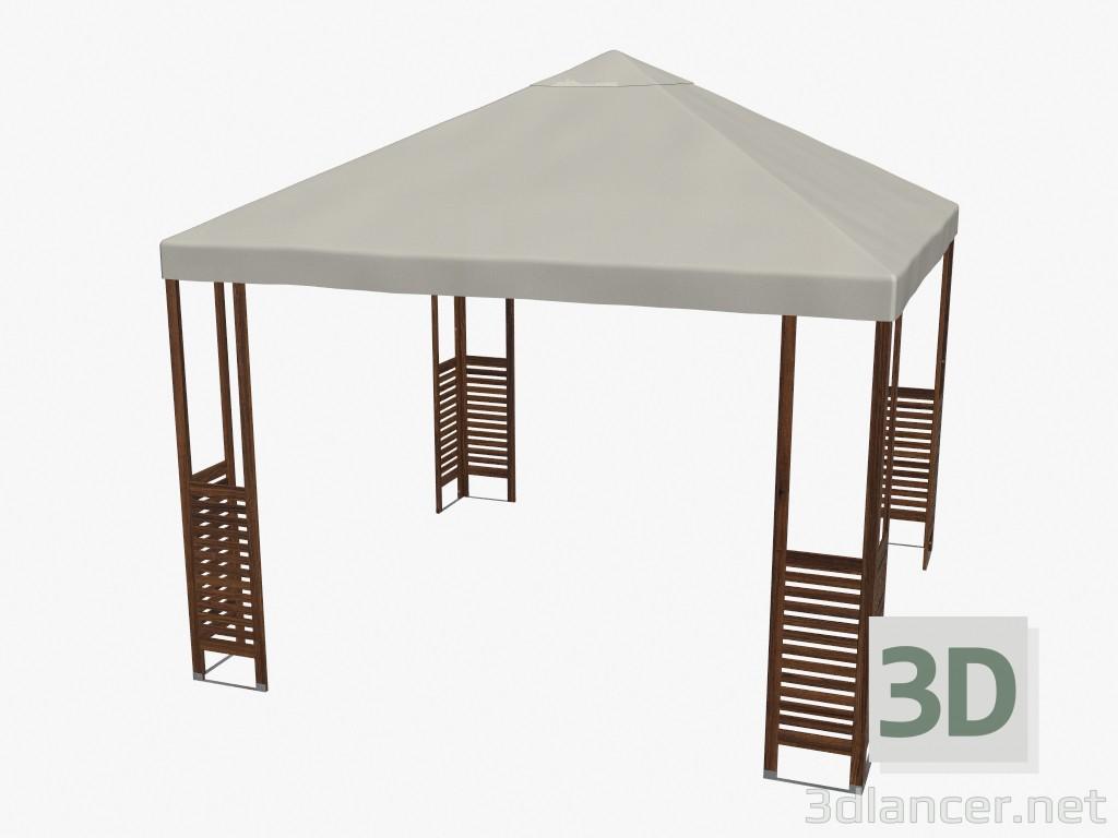 3d model garden house - preview