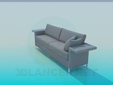 3d модель Диван – превью