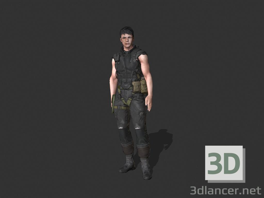 3d model Eddy_Militar - preview