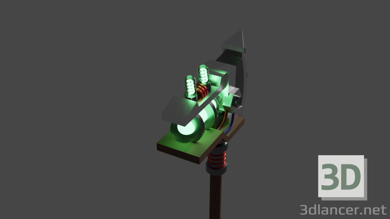 3d Battle ax model buy - render