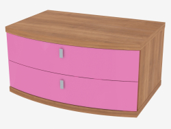 Nightstand with two drawers