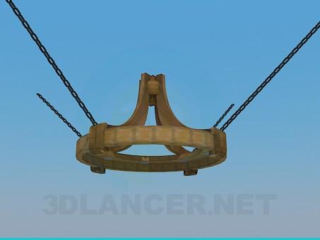 3d модель Светильник для таверны – превью