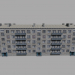 3d model Panel five-story building - preview
