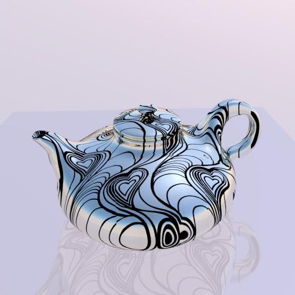 3d моделирование Чайник модель скачать бесплатно