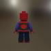 3d Lego_Spider man model buy - render