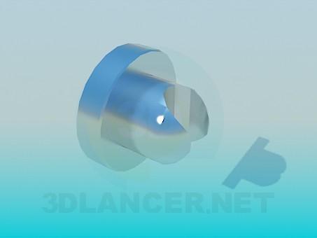 3D Modell Halter für die Dusche - Vorschau