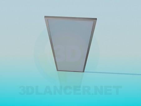 3d моделювання Двері з матового скла модель завантажити безкоштовно