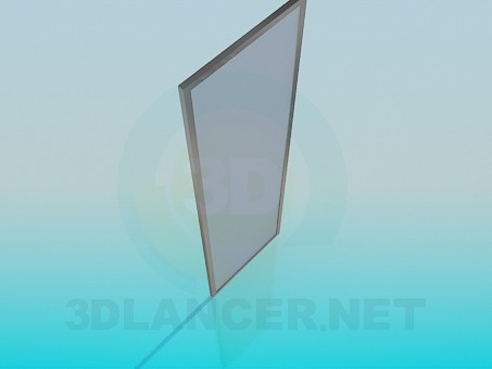 modelo 3D Puerta de vidrio esmerilado - escuchar