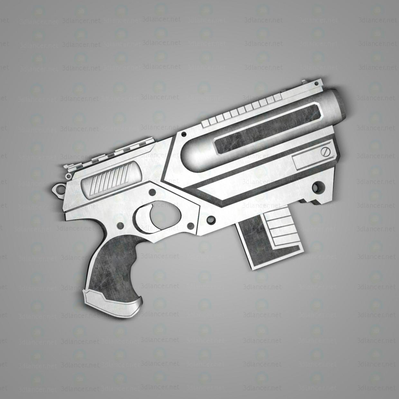 """Важкий пістолет """"Кайман"""" 3d модель купити - рендер"""