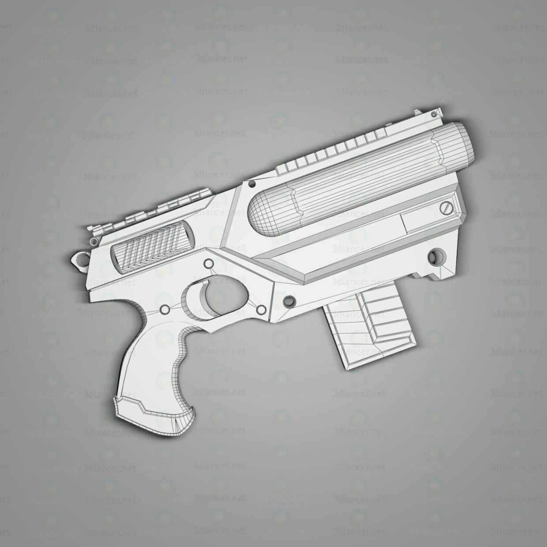 """3d Важкий пістолет """"Кайман"""" модель купити - зображення"""