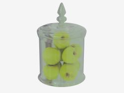 pommes Vase Fauchere S d 20 h 31,5sm