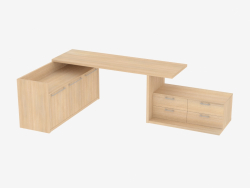 A set of two stands and a table for a child's room (de 22)