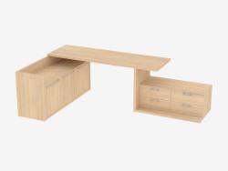 Un ensemble de deux stands et une table pour une chambre d'enfant (de 22)