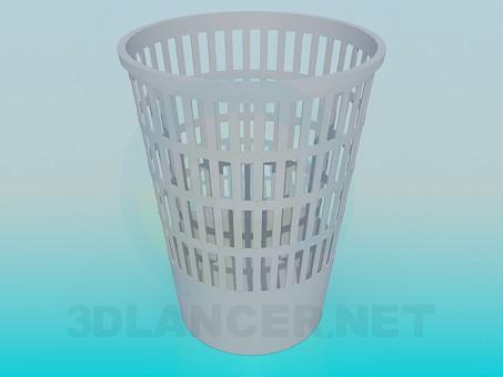 3d модель Корзина для мусора – превью