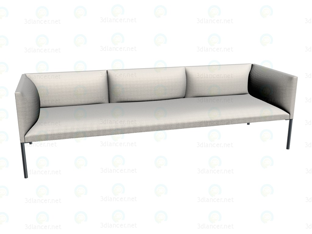 3d modeling Sofa HO230 model free download