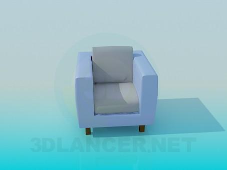 Koltuk model ücretsiz 3D modelleme indir