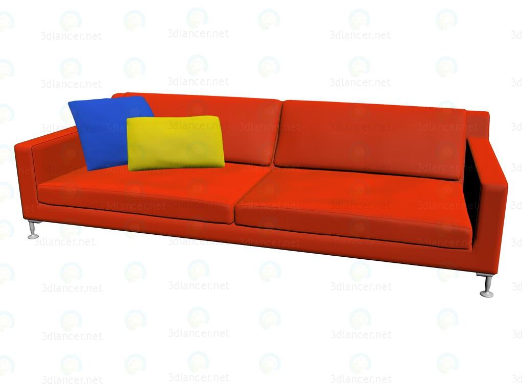 3d model Sofa HL253 - preview