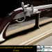 3d 18th century breeder flint pistol model buy - render