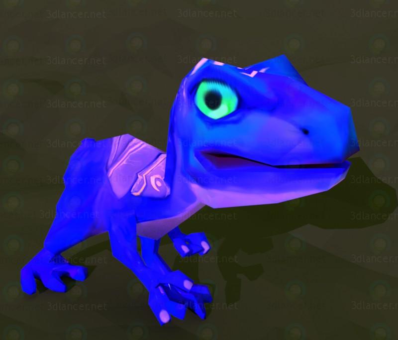 3d model Dinosaurio - vista previa