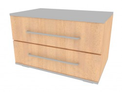 Cupboard with 2 drawers NM226_20-25