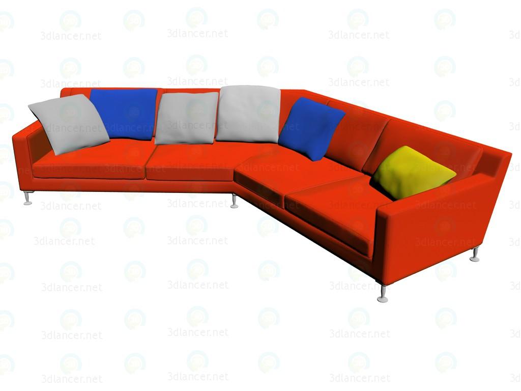 3d model Sofa HL375 - preview