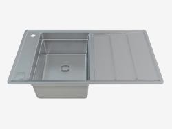 Fregadero de acero cocina Bolero (ZHB-0113 30917)