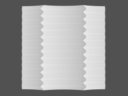 Pannello 3D Ruffle