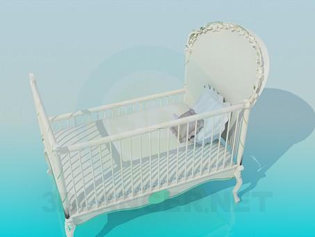 descarga gratuita de 3D modelado modelo Cuna