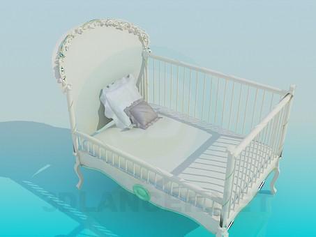 3d model Crib - preview