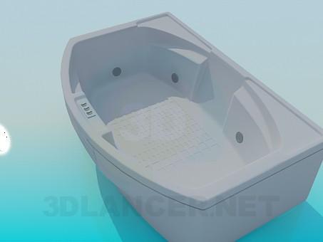 descarga gratuita de 3D modelado modelo Bañera de hidromasaje