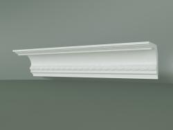 Plaster cornice with ornament KV035