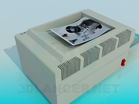3d модель Принтер – превью