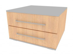 Cupboard with 2 drawers NM227_20-25