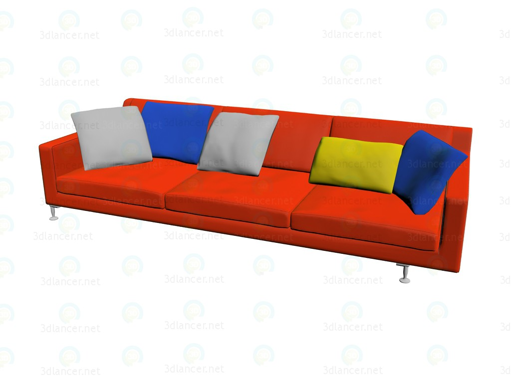 3d model Sofa HL278 - preview