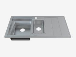 Fregadero de acero cocina Bolero (ZHB-0513 48251)