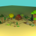 3d model FOREST - preview