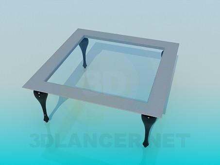 3d моделювання Квадратний журнальний стіл модель завантажити безкоштовно