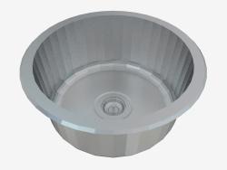 Cornetto cocina fregadero de acero (ZHC-0803 29445)