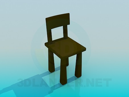 3d modeling Cozy chair model free download